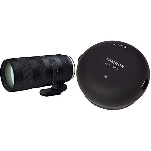 Tamron SP 70-200mm F/2.8 Di VC USD G2 - für Canon EF, A025E, Schwarz & TAP-01E Tap-in Console für Canon schwarz