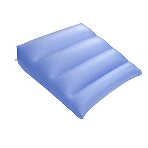 EXCEART Cojín Inflable de Relajación Multifuncional Portátil Conveniente Almohada de Descanso Cojín de Aire Inflable de Apoyo de Respaldo Cama de Alivio Cojín de Cuña para El Hogar de La