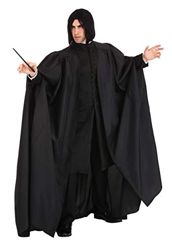 Jerry Leigh Disfraz de Snape de Harry Potter de talla grande - negro - 2X