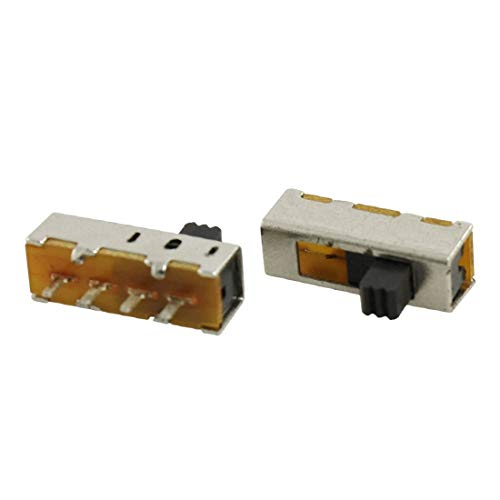 New Lon0167 5 Unidades Destacados x PCB 4 eficacia confiable Pines ON/ON/ON 3 Posición SP3T 1P3T Mini Interruptor Deslizante 0.5A 50V DC(id:94f d2 07 55f)