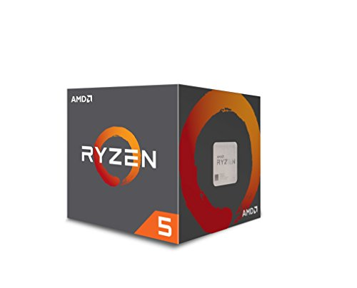 AMD Ryzen 5 1600 65W AM4 Processor with Wraith Stealth...