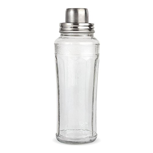 Home Essentials & Beyond Mixology Cocktail Shaker, 33 oz, Clear
