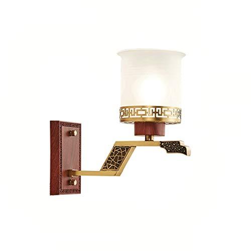 Wandlamp HXF koperen bedlampje slaapkamer creatieve woonkamer schepen landerale mode