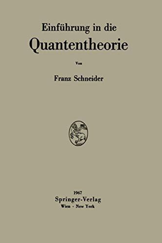 Einführung in die Quantentheorie