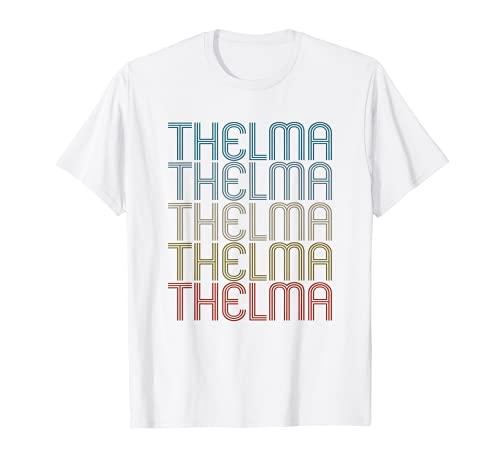 Thelma Primer Nombre Vintage Retro Camiseta