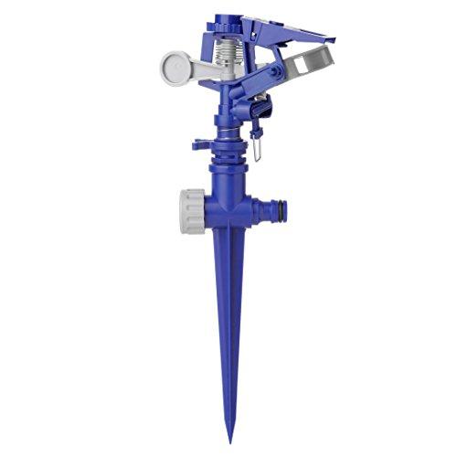 TATAY 21801 - Irrigatore a impulso con Puntale, 12,5 x 5 x 30 cm, Colore Blu