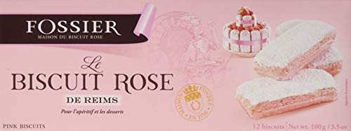 Fossier Biscuits Roses Reims, 16er Pack (16 x 100 g)