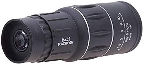 IW.HLMF Fernglas Spektral, Teleskope Monokular Brille Low Light NightKids Brille-16x52 Prisma Großer Durchmesser Superweit Winkel wasserdichte Teleskope, Birtay Geschenk, Jungen Geschenk