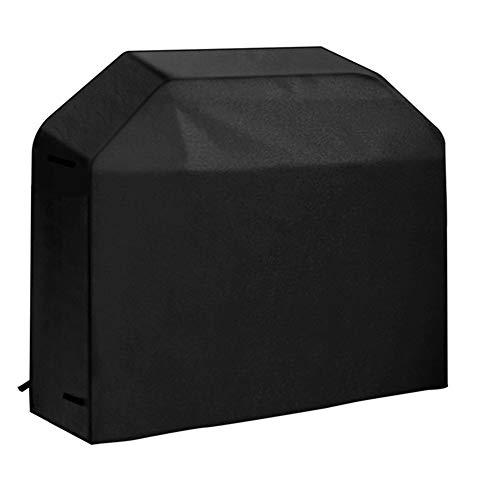byou Housse a Barbecue,Housse Bâche de Protection Anti-UV Imperméable Anti-l'humidité Oxford BBQ Couverture avec Sac de Rangement 170 * 61 * 117cm