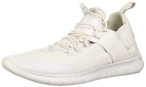 Nike Women's Free RN Commuter 2017 Running Shoe (6, VAST Grey/White)