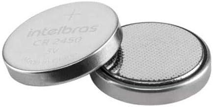 Bateria De Litio Intelbras Blister 5 Unidades Cr 2450