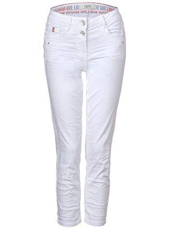 CECIL Damen 372913 Scarlett Jeans, Weiß(white denim)W30/L26