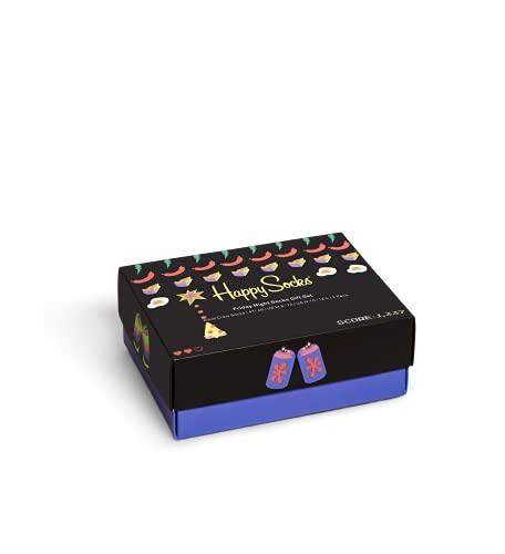 Happy Socks Friday Night in 2-Pack Gift Set Calzini, Multi, 41-46 Uomo