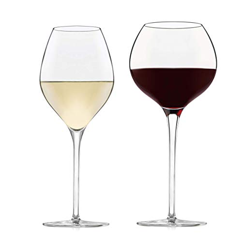 Libbey Signature Westbury 12-Piece Wine Glass Party Set for Red and White Wines