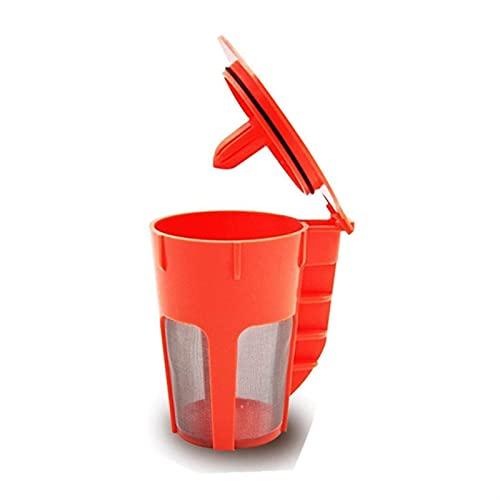 YANYAN Ring Store Filtros de café Reutilizables, Ajuste Recargable de reemplazo for Brewers Keurig 2.0, K200 K300 K400 K500 Serie de máquinas de preparación.