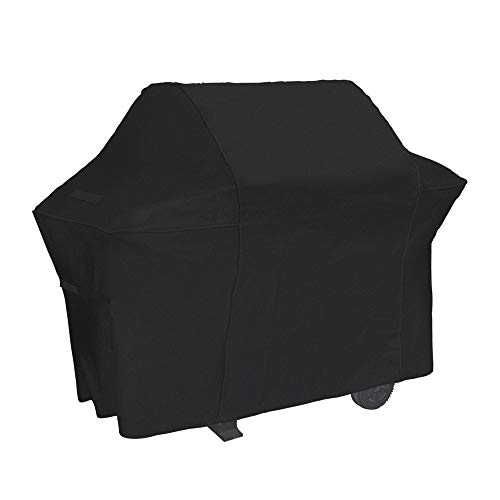 NEXCOVER Grill Cover, 64 Inch Waterproof BBQ Cover, 600D Heavy Duty Gas Grill Cover,Rip Resistant Barbecue Cover for Weber,Brinkmann, Char Broil, Holland (64 inch)