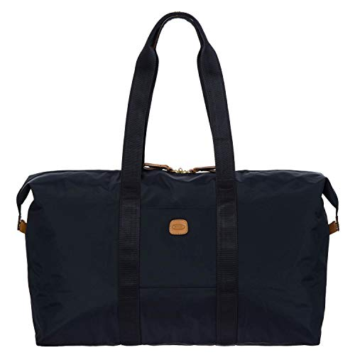 Bric's x-Travel 2.0 22 Inch Cargo Overnight/Weekender Folding Duffle Bag, Navy, One Size Hawaii
