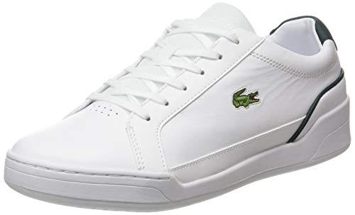 Lacoste Damskie buty typu sneaker Challenge 0120 2 SMA, Blanc Wht Dk Grn, 45 EU