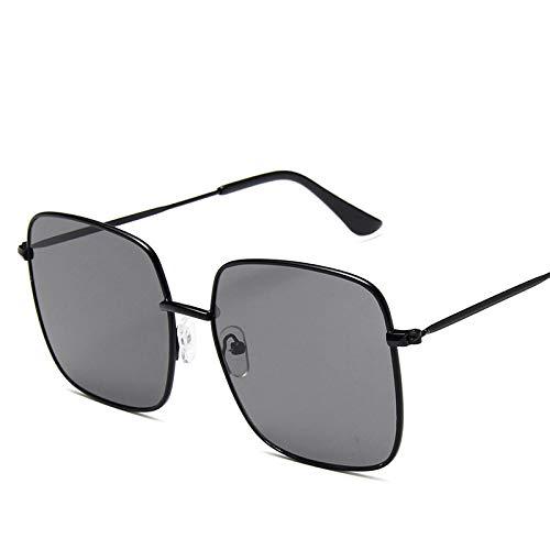 Único Gafas de Sol Sunglasses Gafas De Sol De Montura Cuadrada para Mujer, Gafas De Sol De Gran Tamaño para Hombre, Gafa
