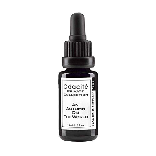 Odacité - An Autumn On The World, Vitamin C Face Serum Concentrate, Anti Aging For Skin and Face, Rosehip and Pomegranate, 0.5 fl. oz.