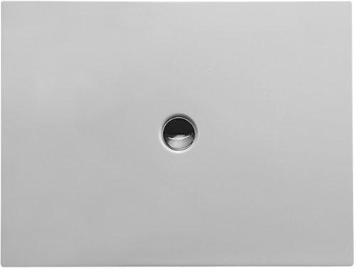 Duravit Bodenbündige Duschwanne 120x90cm Rechteck, weiß, 720087000000000