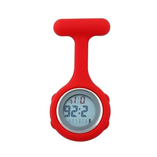 Reloj Médico del Hospital de silicona digital enfermera reloj de bolsillo de...
