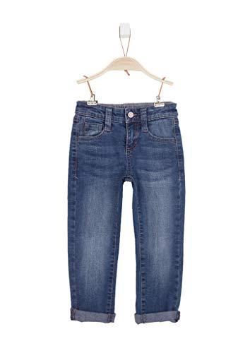 s.Oliver Junior Jungen 74.899.71.0520 Slim Jeans, Blau (Blue Denim Stretch 56z7), 140