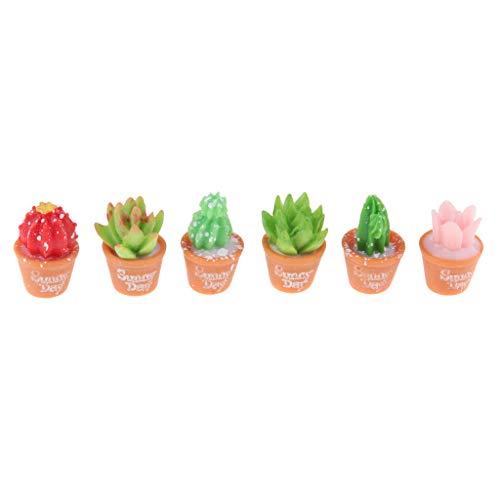 gazechimp Mini-tamanho Suculentas Artificiais Em Miniatura Planta Flor Decoração De Para Casa