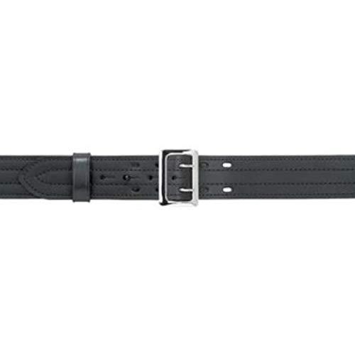 Amazing Deal Safariland 87 Duty Belt Gloss Black, Brass Buckle, Size 34