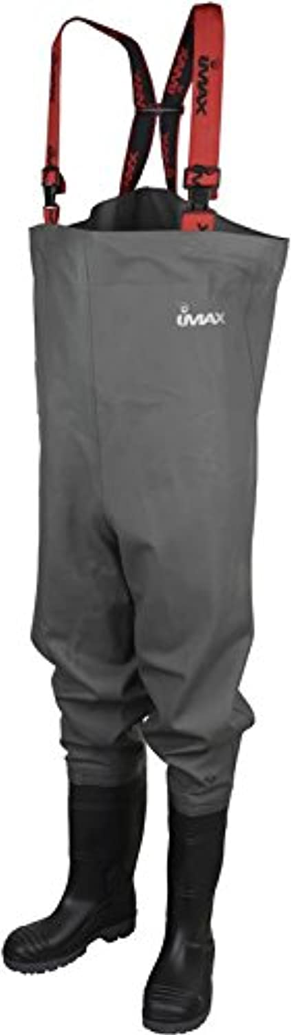 Imax Nautic Chest Wader Cleated Sole 42 - 7.5