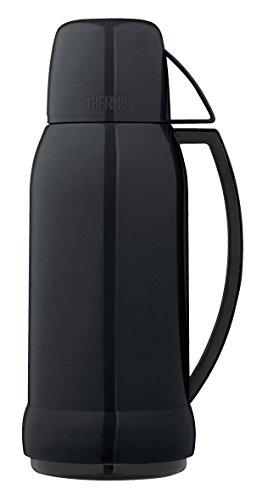 THERMOS 4057.233.100 Jupitor Bouteille Isotherme 1 Litre Plastique Noir