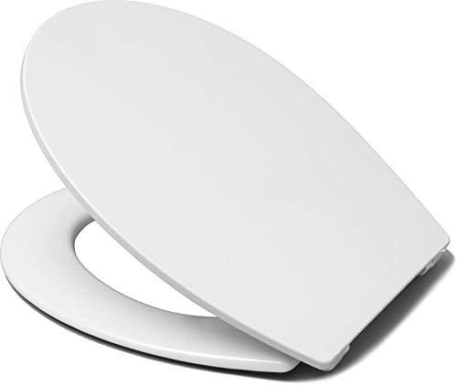 WC-Sitz für DIANA AKTIV | weiß | Scharniere Edelstahl | ohne Softclose | O100