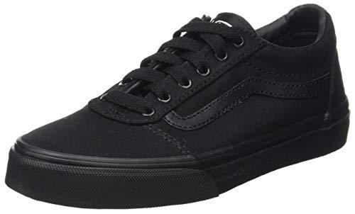 Vans Herren Ward Sneaker, Schwarz Canvas Black, 42 EU