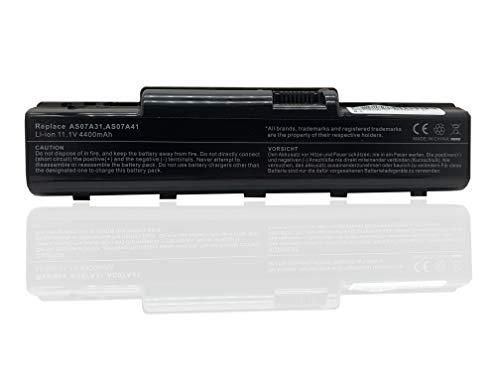 Batería de Repuesto AS07A31 AS07A41 para Acer Aspire 57xx 5735 5735Z 5737Z 5738 5738G 5738PZG 5738Z 5738ZG 5740 5740G (6 Celdas, 4400 mAh, 11,1 V)