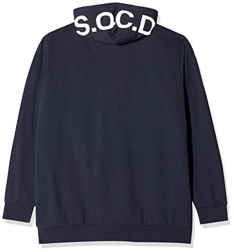 s.Oliver Big Size Herren 15.909.41.4974 Sweatshirt, Blau (Fresh Ink 5952), XXXXX-Large (Herstellergröße: 5XL)