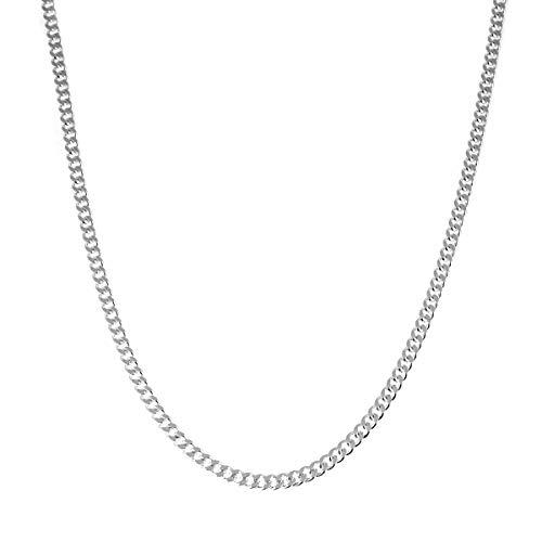 ネックレス メンズ チェーン ブランド シルバー 925 シンプル blackdia シルバー 喜平 チェーン ネックレス 幅4.6mm 長さ60cm