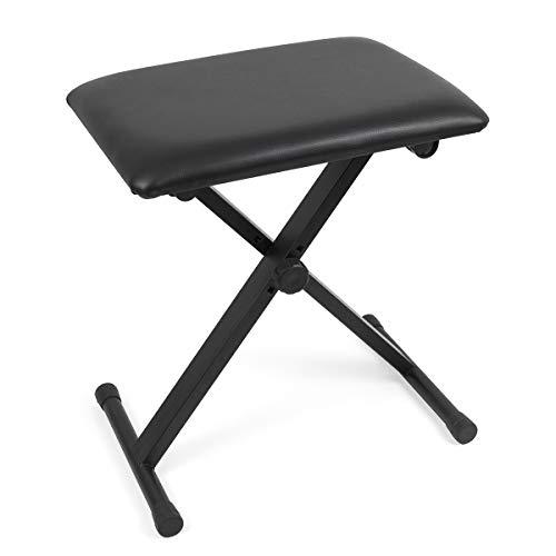 Kmise Piano Bank verstelbare gevoerde X stijl stoel stoel voor studenten praktijk