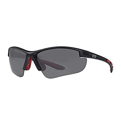 O2O Polarized Sports Sunglasses UV400 Protection Unbreakable Superlight Weight Frame Confortable and Fit for Men Women Teens Biking Driving Golf Baseball Cycling Fishing Running (Black