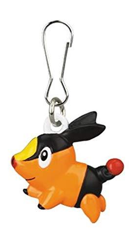 Pokemon: Best Wishes! (Schwarz + Weiß) Metall Anhänger / Clip: Floink / Tepig