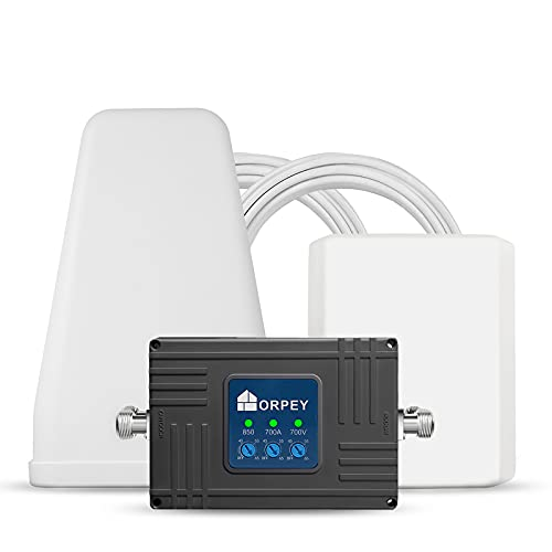 Cell Phone Signal Booster Repeater for Home and Office - Supports GSM 3G and 4G LTE Voice and Data...