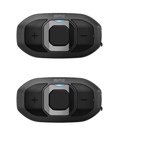 Sena Headset SF2 Motorrad Bluetooth 4.1 DOPPEL 2-Wege Intercom HD-Lautsprecher