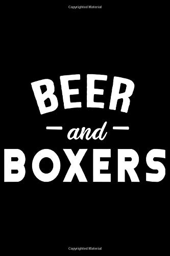 Beer and boxers: Beer Tasting Journal 6x9 111 pages