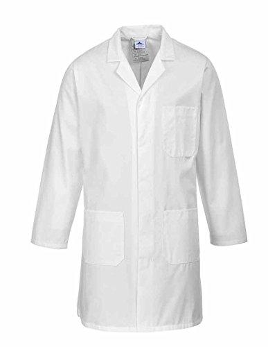 Portwest 2852WHR4XL Abrigo de Protection, Standard , 4XL, Blanco (White)