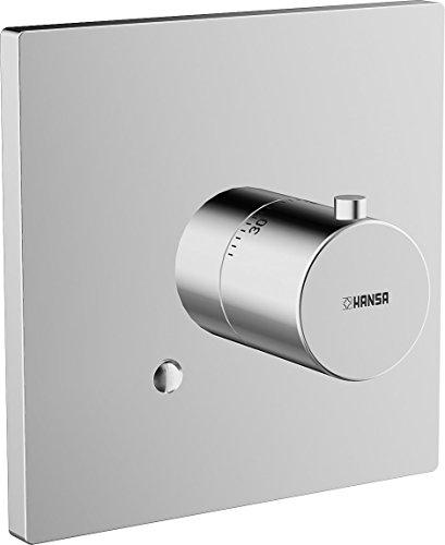 Hansa Fertigmontageset HANSADESIGNO 51129172 für Unterputz-Thermostat, verchromt