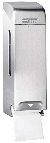 ALLCARE 11091 Mediclinics PP0006C (Sanitär) Abfallbehälter Edelstahl Hochglanz, 6 L