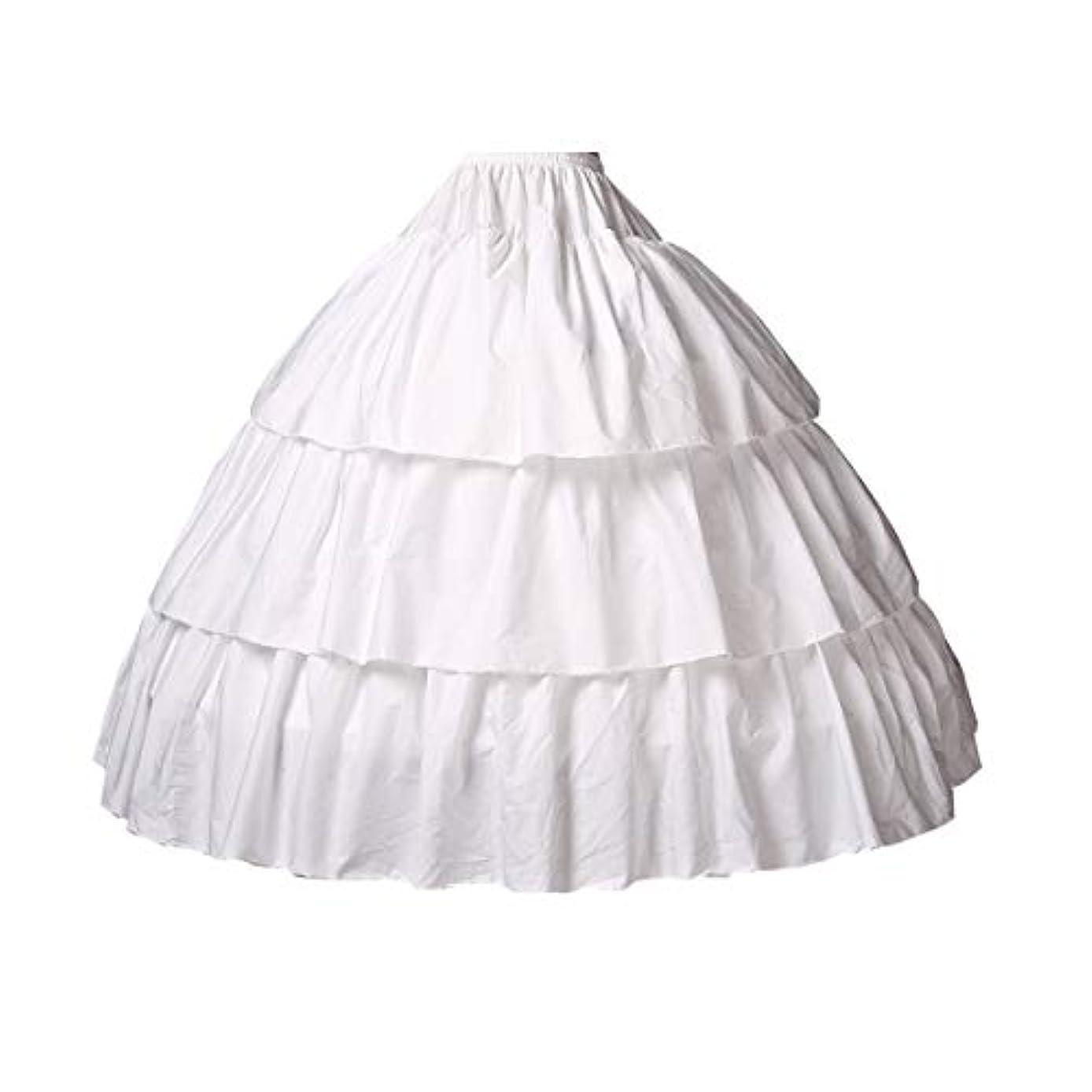 BEAUTELICATE Girls Petticoat 100% Cotton Crinoline Underskirt for Kids Flower Dress Slips 3 4 Hoops Light Ivory