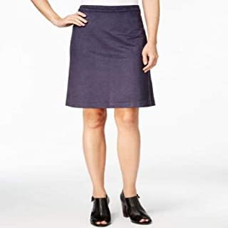 Tommy Hilfiger Faux-Suede a-Line Skirt Masters Navy 12