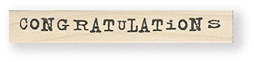 Tampon en caoutchouc - Congratulations - Cats Life Press 269 C