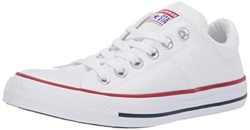 Converse Women's Chuck Taylor All Star Madison Low Top Sneaker, White/White/White, 10 M US