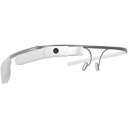 【第三世代】Google Glass V3.0 2GB RAM グーグルグラス XE-C 開発者向け (White ホワイト)